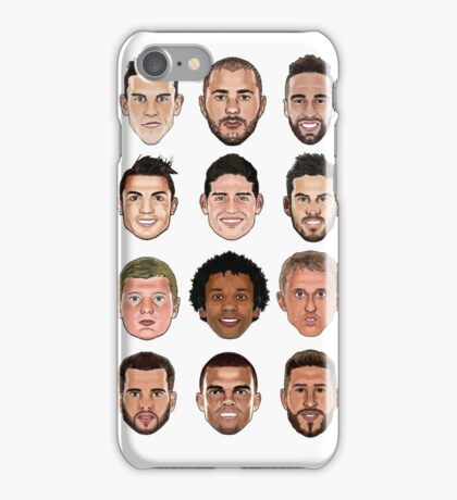 Real Madrid 2015/2016 iPhone Case/Skin
