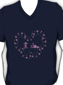 i do txt hearts lollipop candy graphic art T-Shirt