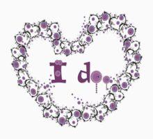 i do txt hearts lollipop candy graphic art Kids Tee