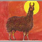 Sun Llama by Kat Anderson