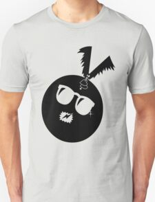unique funny bat's hijacking graphic art Unisex T-Shirt