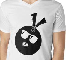 unique funny bat's hijacking graphic art Mens V-Neck T-Shirt