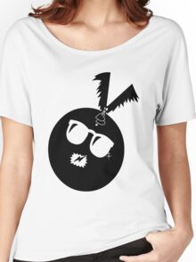 unique funny bat's hijacking graphic art Women's Relaxed Fit T-Shirt