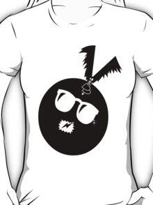 unique funny bat's hijacking graphic art T-Shirt