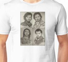 All for one...one for all! That is our motto! The Musketeers! Unisex T-Shirt