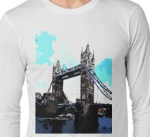 London Tower Bridge UK Long Sleeve T-Shirt