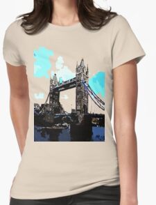 London Tower Bridge UK Womens Fitted T-Shirt