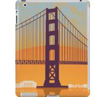 San Francisco vintage poster iPad Case/Skin