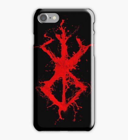 Berserk - Sacrifice - splatter version iPhone Case/Skin