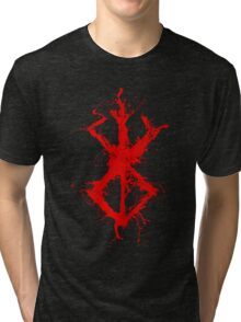 Berserk - Sacrifice - splatter version Tri-blend T-Shirt