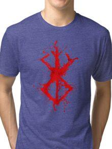Berserk - Sacrifice - splatter version Tri-blend T-Shirt