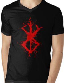 Berserk - Sacrifice - splatter version Mens V-Neck T-Shirt