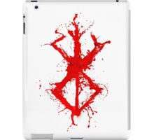 Berserk - Sacrifice - splatter version iPad Case/Skin
