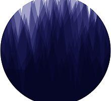 Shady Landscape (Blue) by lukeharding