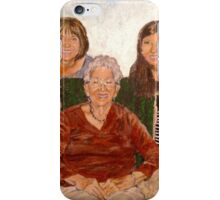 Three Generations  iPhone Case/Skin