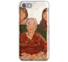 Three Generations  iPhone Case/Skin