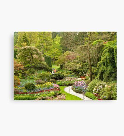 The Butchart Gardens Canvas Print