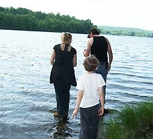 Walking on the waters by Roger-Cyndy