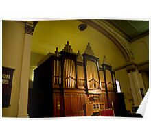 0031  The Hill Organ Poster