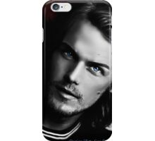 Sam Heughan black and white iPhone Case/Skin
