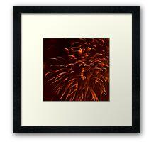 """""""Ribbon"""" Fireworks Framed Print"""