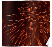 """""""Ribbon"""" Fireworks Poster"""