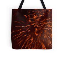 """Ribbon"" Fireworks Tote Bag"