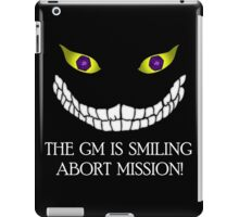 The GM Is Smiling iPad Case/Skin
