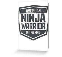 American Ninja Warrior in Training Greeting Card