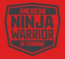 American Ninja Warrior in Training Kids Tee
