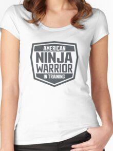 American Ninja Warrior in Training Women's Fitted Scoop T-Shirt