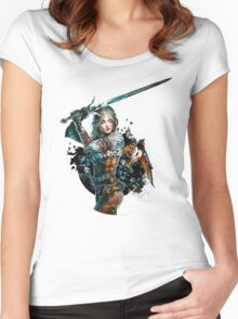 Ciri - The Witcher Wild Hunt Women's Fitted Scoop T-Shirt