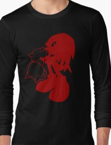 Knucklepunched (Red) Long Sleeve T-Shirt