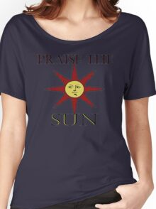 Solaire - Praise the sun! Women's Relaxed Fit T-Shirt