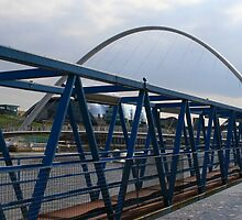 Millenium Bridge Newcastle by Lejla Kevric