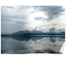 Blue Morn - Lough Curran, Waterville, Eire Poster