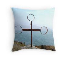 Iron Cross - Cill Railiag, Co Kerry, Eire Throw Pillow