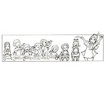 childhood sketch Photographic Print