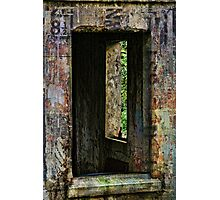 Graffiti Window Photographic Print