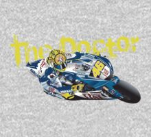 The Doctor. Valentino Rossi One Piece - Long Sleeve