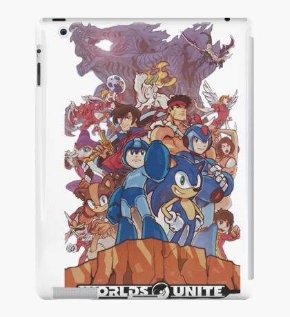 capcom and sega iPad Case/Skin