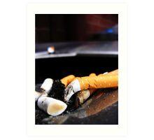 Bin Grunge: Cigarette et Lumière Art Print