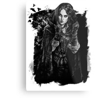 Yennefer - The Witcher Wild Hunt Metal Print