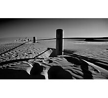 Fenceline to Oblivion Photographic Print