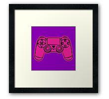 Gamer- pink Framed Print