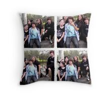 Yeah, we're a goofy bunch! ;) Throw Pillow