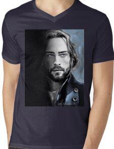 Ichabod Mens V-Neck T-Shirt