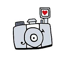 Adjust Your Focus - Grey Photographic Print