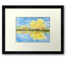 Autumnal Reflections Framed Print
