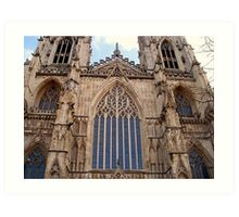 Architectural Genius - York Minster Art Print